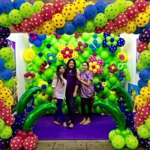 Balloon Linkaloon Backdrop