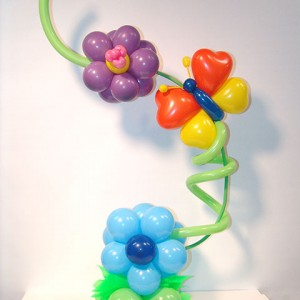 Balloon Standee centerpiece