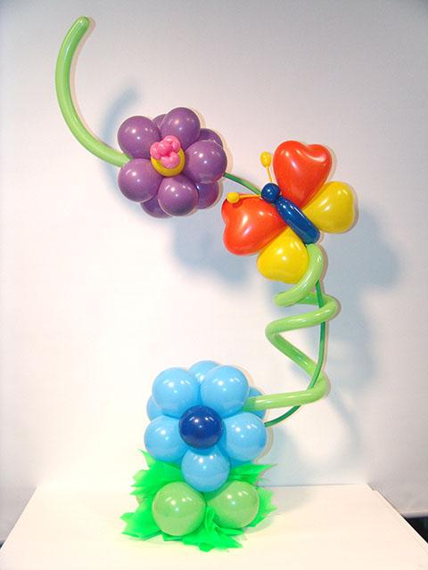 Balloon table standee magical wonderlande