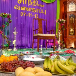 Bangle Ceremony Tamil Letterings