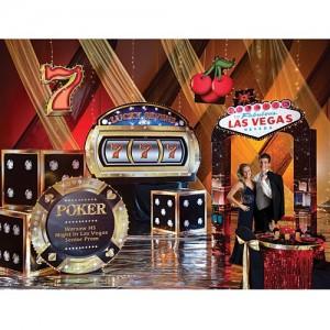Casino theme DEcoration