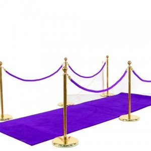 Walkway Purple Carpet