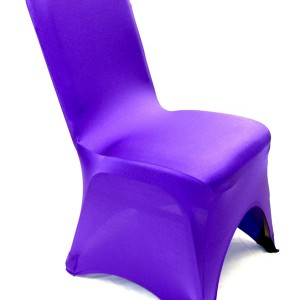purple chair cover spandex singapore