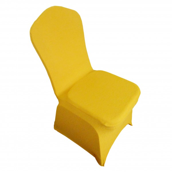 yellow chair cover spandex singapore