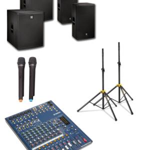 2 Sub and 2 speaker