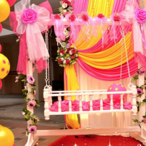 Baby cot Deco for Girl