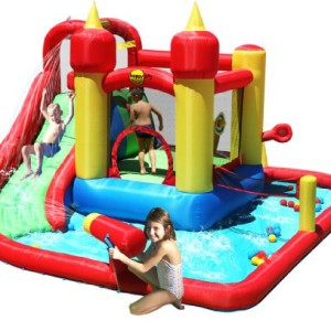 Jump And Splash Bouncy Castle