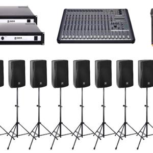 8 speaker Sound system package