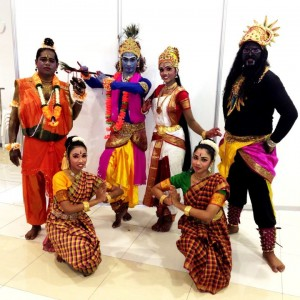 deepavali dance drama magical wonderlande