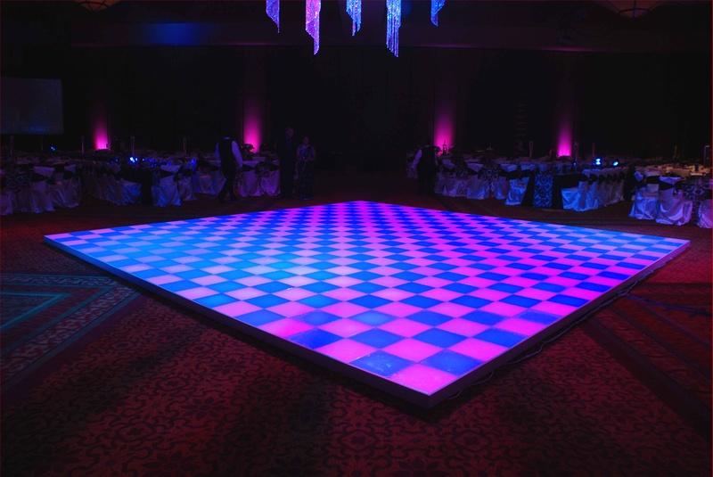 led dance floor magical wonderlande