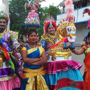 poi kaal kuthirai dance magical wonderlande
